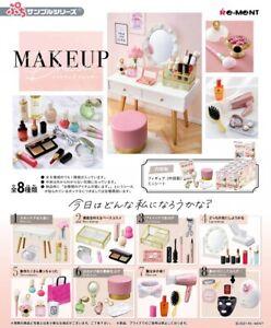 Re-Ment Miniature Petit Sample Makeup Dresser Cosmetic rement Full set