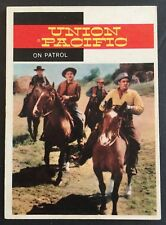 Vintage 1958 Topps TV WESTERNS card #43 ON PATROL- combined ship