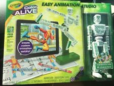 Crayola EASY ANIMATION STUDIO Imagine Design Create Real 3D Graphics Color Alive