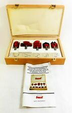 Freud 5 Piece Cabinet Door Router Bit Set 94-100