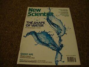 NEW SCIENTIST MAGAZINE   No 3180  2nd June 2018