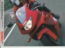 Brochures Paper YZF Yamaha Motorcycle Manuals & Literature