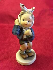 Goebel Figure: Lovely Condition West German Figurine: Boy With Toothache C1950's