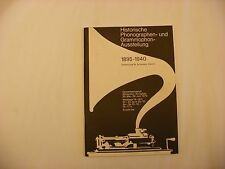 Phonograph Victrola Gramophone - Book - Historische Phonographen Und Grammophon