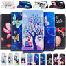 For Apple iPhone PU leather TPU Case Cover Holder Card Wallet Flip Stand Skin