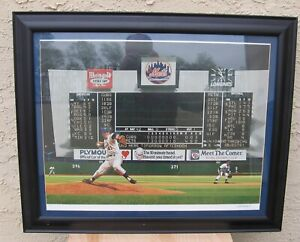 New York Mets TOM SEAVER'S IMPERFECT GAME  Bill Purdom Lithograph w/ Awesome #13