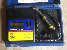 Yellow Jacket 69075 SuperEvac Lcd Vacuum Gauge Full Range In Case