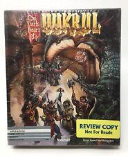 The Dark Heart Of UUKRULL Apple IIe IIc IIgs 1989 Computer Game Software