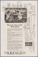 Vintage 1920 S.S. KRESGE Stores Department Store KMART Ephemera 20's Print Ad