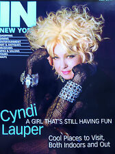 Cyndi Lauper IN New York Magazine July 2013 issue Tony Award winner Kinky Boots