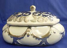 A lidded ceramic candy jar/ home decorative /Favors Wedding Gift