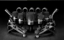 Microphone Drum Kit 7 Piece Live Stage Studio tom-toms snare cymbals microphe