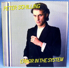 LP PETER SCHILLING - ERROR IN THE SYSTEM // RARE PORTUGAL