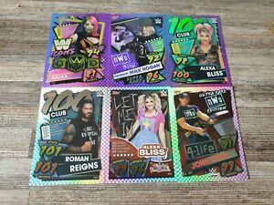 WWE Slam Attax 2021 Pick your Icon/100 club/premium/super rare/ultra rare Card