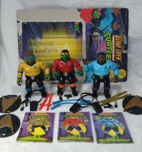 TMNT Star Trek Captain Leo Engineer Michaelangelo First Officer Donatello 100%