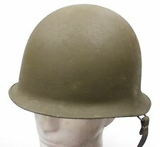 (1) VINTAGE M51 FRANCE FRENCH ARMED FORCES HELMET DATED 1953