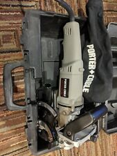 Porter Cable Plate Joiner Model 557 W/case and dust bag