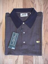 MASTERS GOLF AUGUSTA NATIONAL BROWN MENS POLO X LARGE SHIRT NEW WITH TAG PGA