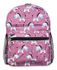 Jenzys Girls Zebra Mini Toddler Purse Backpack Bag For Preschool or Kindergarten