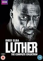 Luther - The Complete Collection Series 1-4 - Idris Elba DVD New & Sealed
