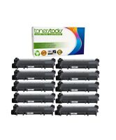 10 High Yield TN660 630 Black Toner Cartridge HL-L2300D For Brother DCP-L2540DW