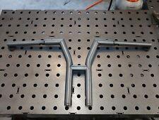 "12"" harley davidson riserless Y design clubstyle bars dyna fxr handlebars"