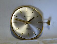 """Gigandet"" ~17J cal.Peseux 330 Complete Running Movement, Dial, Crown and Hands"