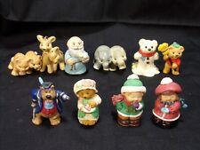 Hallmark Merry Miniatures 10 pc Mixed Lot