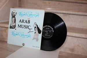 LP Arab music volume 1 (lyrichord LL186)