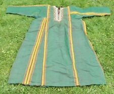 old nomadic raw silk embroidery tribal museum harem dress central asia ats 49820