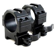 UTG 30mm SCOPE RINGS QD LEVER LOCK TACTICAL LOW PROFILE WEAVER PICATINNY MOUNT