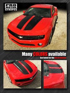 Chevrolet Camaro 2010-2015 Rally Racing Stripes Hood & Trunk Decals Choose Color