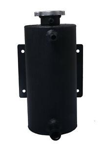 1.5L Universal Aluminum Coolant Overflow Header Tank Expansion Bottle+Cap