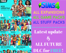 🔥 The Sims 4 ALL EXPANSIONS + ALL GAME & STUFF packs | Latest version | OFFLINE