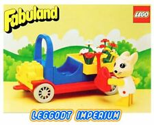 LEGO Fabuland Flower Car - Vintage Bonnie Rabbit 3627 Minifig FREE POST