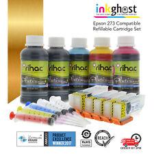 RIHAC Refillable ink cartridges alternative for 273 XL Epson XP-510 520 600 610