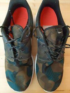 "Nike Roshe One Sneaker ""Camouflage"" EU 47,5 Gebraucht (Neuwertig)"