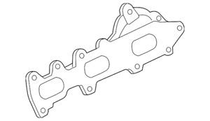Genuine Ford Exhaust Manifold BL3Z-9431-B
