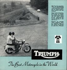 Triumph 1959 Repair Motorcycle Manuals and Literature for