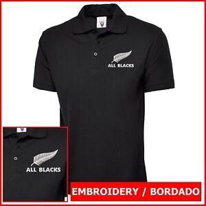 Camiseta Polo Hombre bordado Logo ALL BLACKS embroidery logo