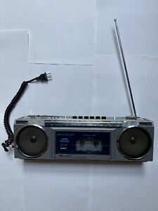 Vintage AM/FM Stereo Cassette Music System Boombox