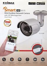 EDIMAX IC-9110W SMART HD WI-FI OUTDOOR NETWORK WIDE ANGLE CAMERA + NIGHT VISION