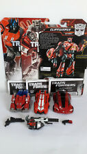 TRANSFORMERS FALL OF CYBERTRON OPTIMUS PRIME SIDESWIPE CLIFFJUMPER LOOSE