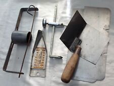 7 Used Drywall Taping Knife Cutting Tool Lot