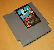 Nintendo NES 8 Bit US NTSC spel game DUCK HUNT 5-screw round seal cart zapper