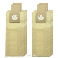 10 x SANYO SHARP Sacchetti Per Aspirapolvere Doppio Strato Sacchetto di carta spessa di ricambio
