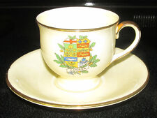 Royal Winton Grimwades Made in England Dainty Cup & Saucer Canada Crest