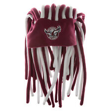 Manly Sea Eagles NRL Dreadlock Dreadlocks Hat Cap Beanie Game Day Party Gift