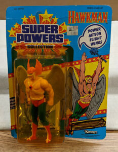 DC Super Powers Collection Hawkman Action Figure - Sealed - Unpunched