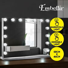 Embellir Makeup Mirror With Light 15 LED Lighted Hollywood Frameless Vanity